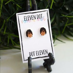 Gerard Way My Chemical Romance Face Stud Earrings